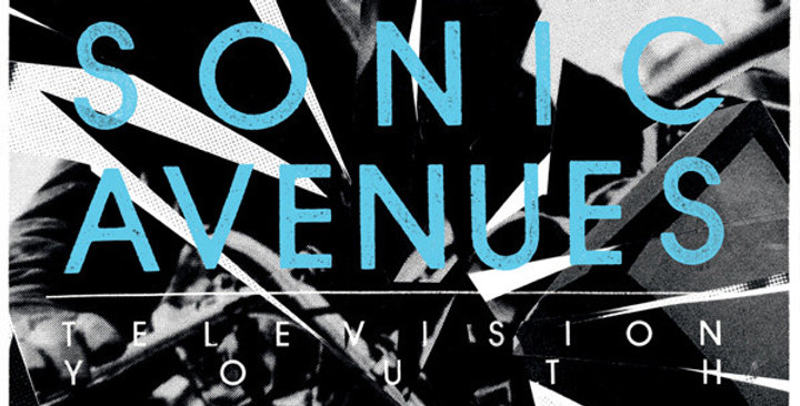"""Sonic Avenues """"Television youth"""" LP"""