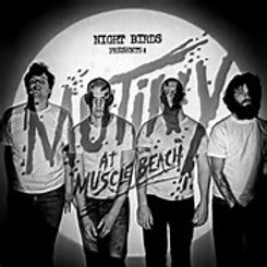 "Night Birds ""Mutiny at Muscle Beach"" LP"