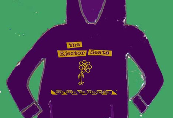 """the Ejector Seats """"High hopes... """"hoodie"""