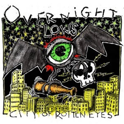 """Overnight Lows """"City of rotten eyes"""" LP"""