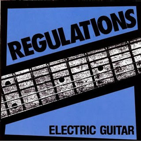 Regulations 'Electric Guitar' LP