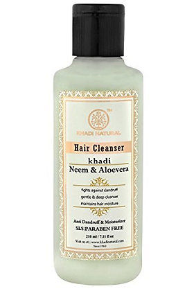 Neem and Aloevera Herbal Hair Cleanser/Shampoo