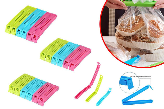 Snack Bag Pouch Clip Sealer