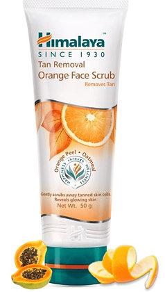 Tan Removal Orange Face Scrub