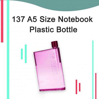 Notebook Plastic Bottle