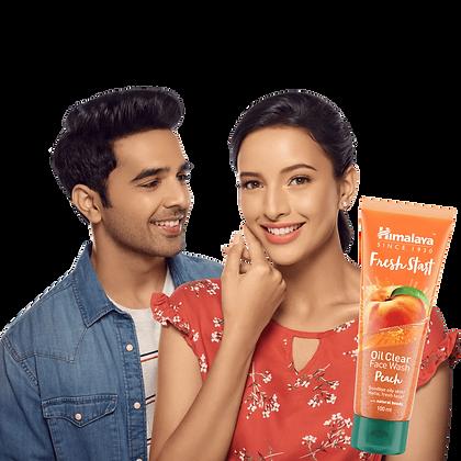 Fresh Start Oil Clear Peach Face Wash