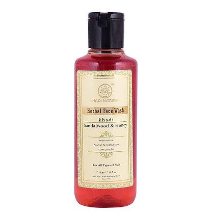 Sandalwood and Honey Face Wash