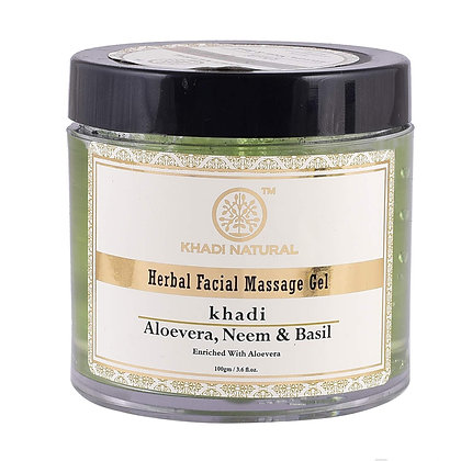 Aloevera Neem and Basil Facial Mass Gel