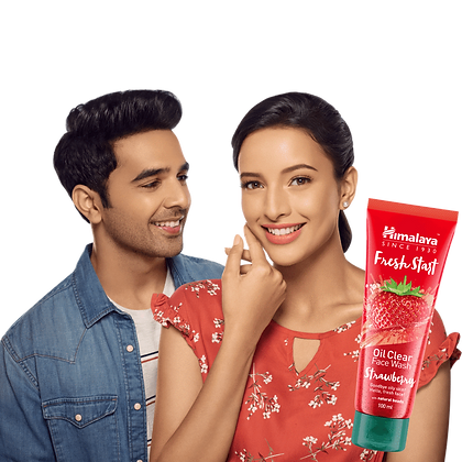 Fresh Start Oil Clear Strawberry Face Wash