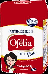 Farinha de trigo Ofélia Tipo 1 Plus embalagem papel