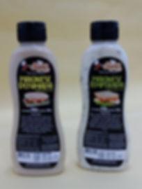 Maionese Defumada e Maionse Temperada em embalagens de plástico c de 200gm aplicador