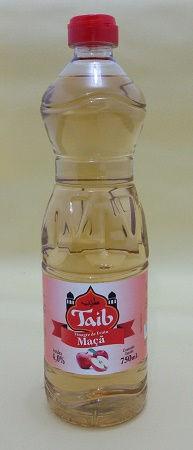 Vinagre de Maçã Taib em garrafa plástica com dosador