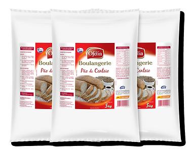 Farinha de Trigo Mistura Especial para Pão de Centeio Ofélia Boulangerie