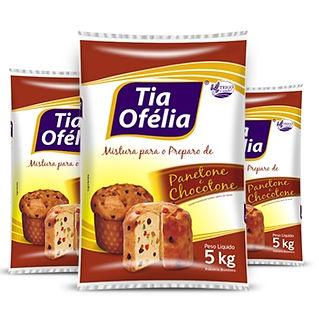 Farinha de Trigo Mistura para Panetone e Chocotone Tia Ofélia