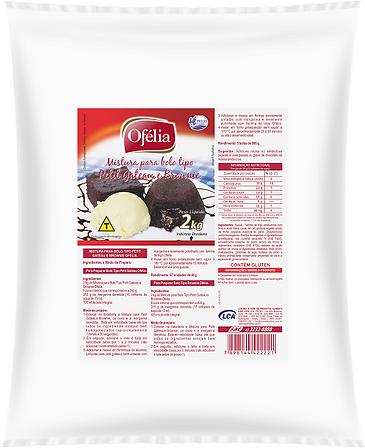 Farinha de Trigo Mistura para Petit Gateau e Brownie Ofélia