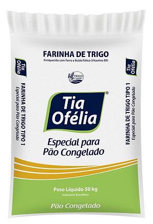 Farinha de Trigo Tia Ofélia Mistura Especial para Pão Francês Congelado 50kg