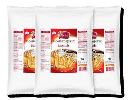Farinha de Trigo Mistura Especial para Pão Francês e Baguete Ofélia Boulangerie