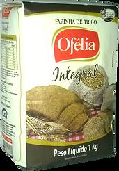 Farinha de Trigo Integral Ofélia embalagem de papel !kg