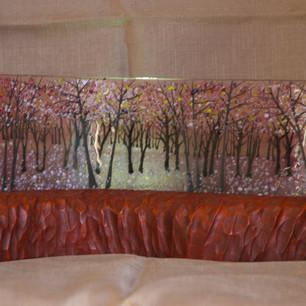 Fused Glass Art Plinth