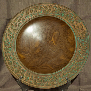 Copper Rim Platter
