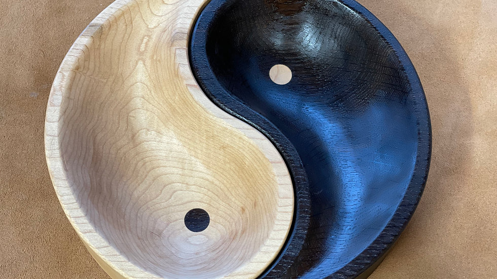 Yin Yang Nibbles Bowl