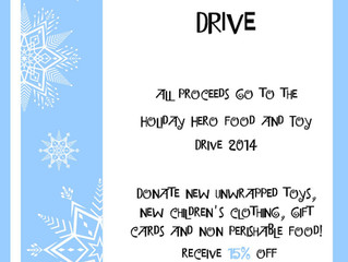 Toy and Food Drive!