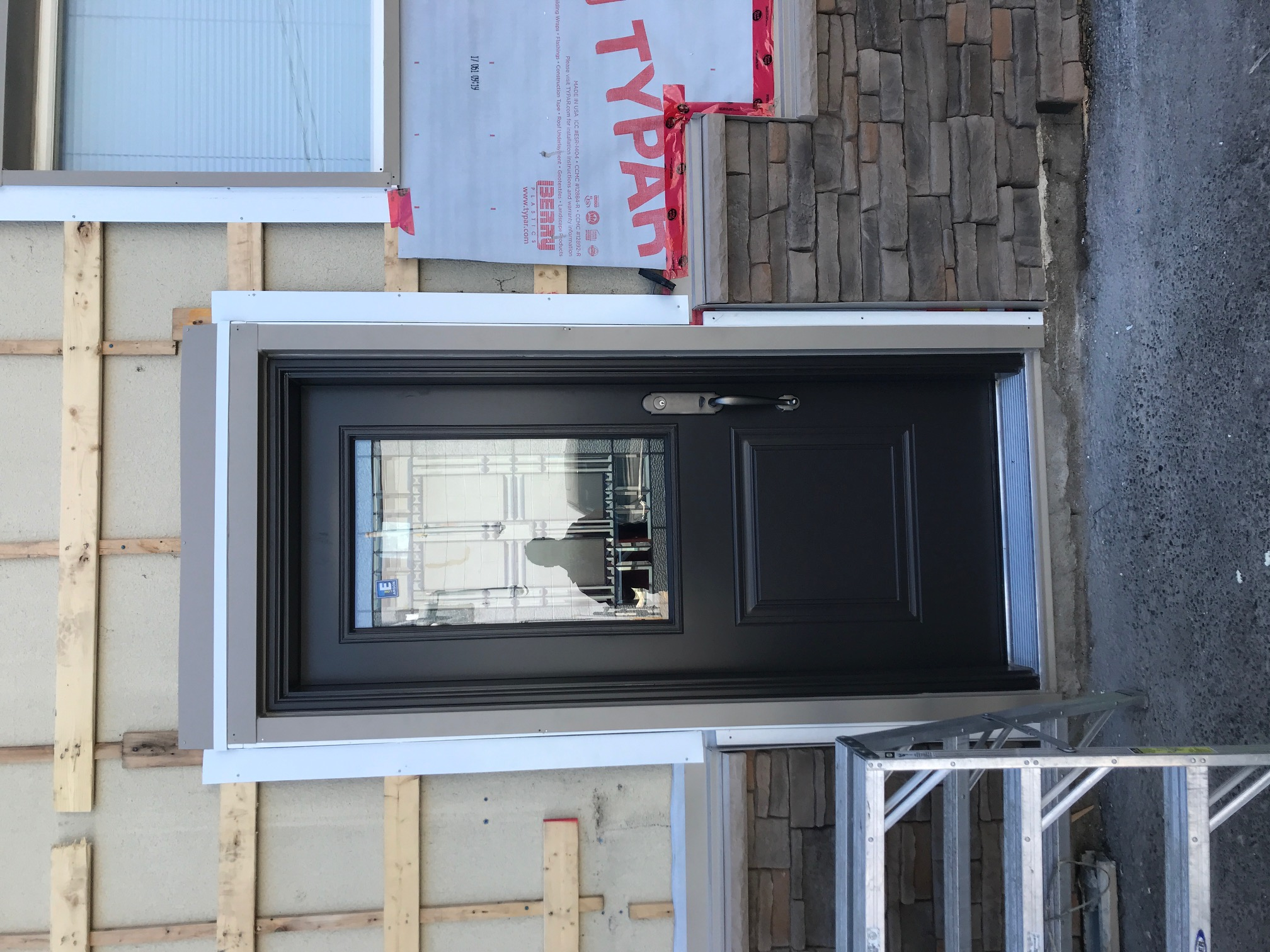 New Steel Door