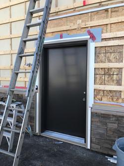 New Steel Door