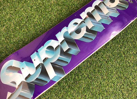 Supreme Chrome Skate Deck