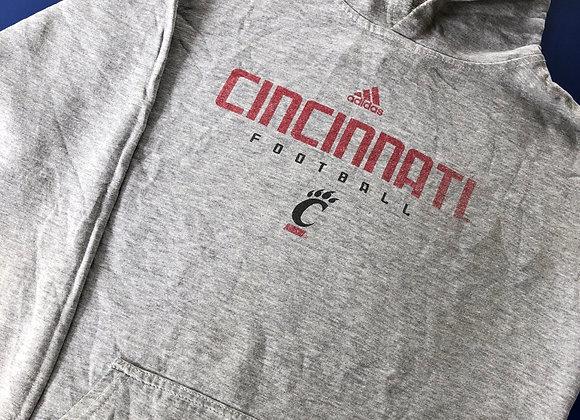 Cincinnati Adidas Football Hoodie