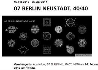 EXHIBITION // Ausstellungsbeitrag in der BDA-Gallerie in Berlin