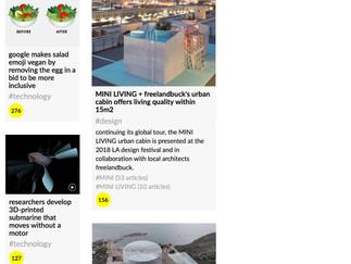 PUBLICATION // Veröffentlichung auf designboom