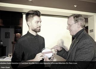 AWARD // Preisverleihung in Thüringen mit Ministerpräsident Bodo Ramelow