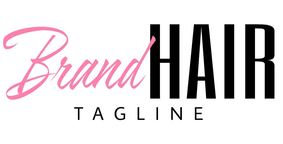 Pre-Made Hair Logo