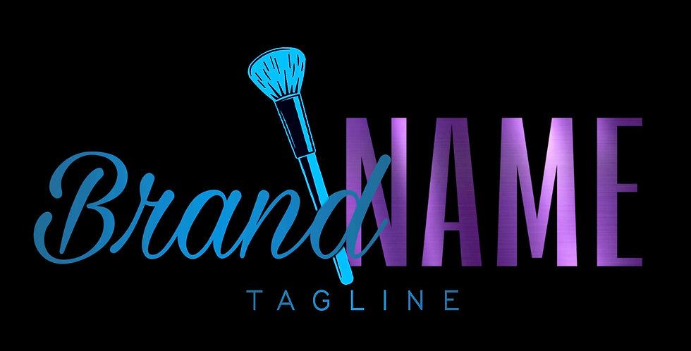 Pre-Made Makeup Logo