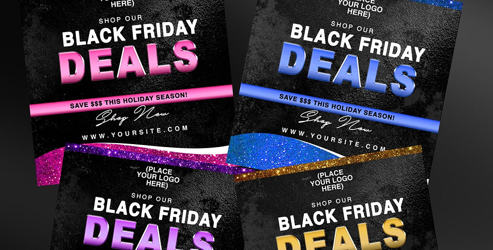 PREMADE Glam Black Friday Flyer