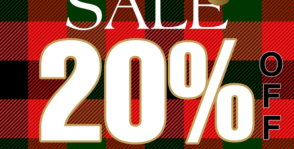 PREMADE Holiday Sale Template