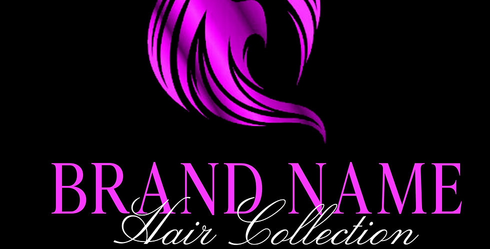 Pre-Made Hair Collection Logo