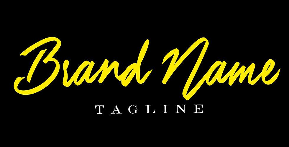 Pre-Made Logo 2