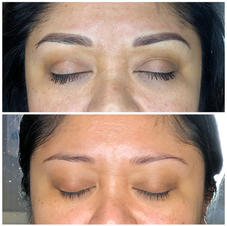 Reshaping and adding definition with Microblading and Ombre shading.