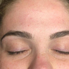 Healed 2 years, Microblading and shading.