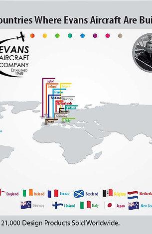 Evans Air Map