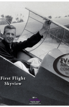 Evans Volksplane First Flight DVD