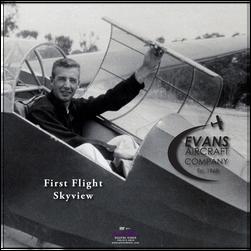Evans Volksplane First Flight DVD