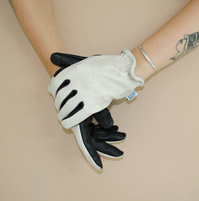 Dolly Gloves in White (Now on sale - $34.00USD)