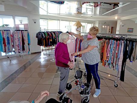 Modeverkauf kehrt ins Heim zurück