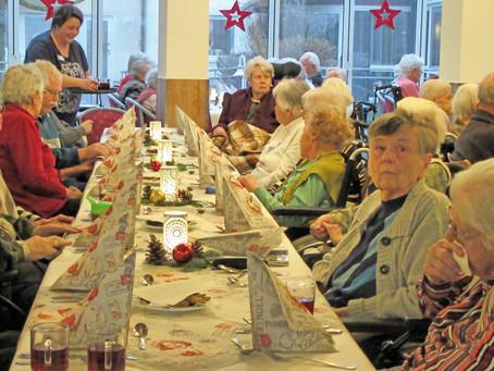 Bewohnerweihnachtsfeier im Haus der Senioren