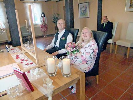 Hochzeit im Haus der Senioren