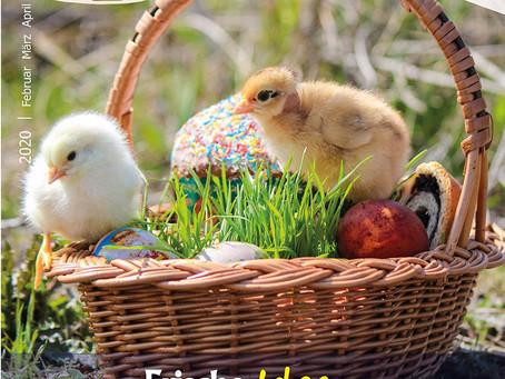 """Neue Ausgabe des MITEINANDER: """"Frische Ideen für die Pflege"""""""