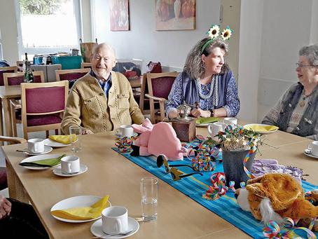 "Faschingsfeier im ""Café in der Au"""